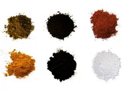 Revell sada pigmentů (6 druhů) - RVL39066