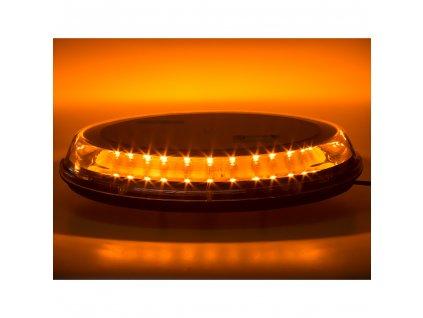 LED rampa oranžová, 32LEDx3W, fix, 12-24V, 395mm, ECE R65 R10 - sre2-233fix