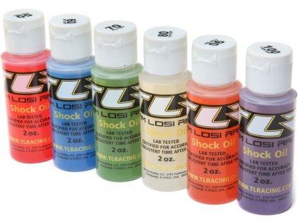 TLR silikonové oleje do tlumičů High (sada 6x56ml) - TLR74021