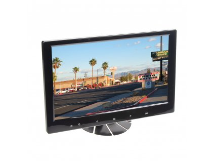 """LCD monitor 9"""" černý do opěrky nebo palubní desku - ic-916t"""