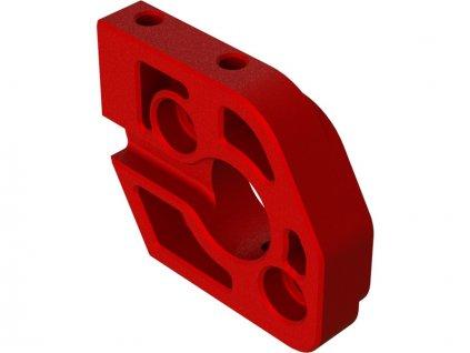 Arrma deska motoru hlilník, červená - ARA320483