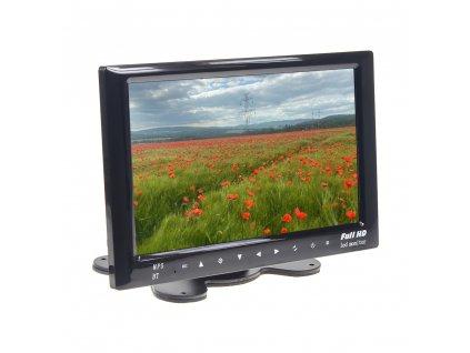 "LCD monitor 7"" na palubní desku s microSD/USB/FM modulátor/Bluetooth - ic-701t"