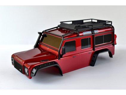 Traxxas karosérie Land Rover Defender červená: TRX-4 TRA8011RED