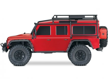 TRX 4 Defender Red sideview