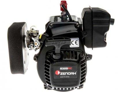 Motor Zenoah G320, vzduchový filtr, spojka: 5IVE-T 2.0 - DYNE1275