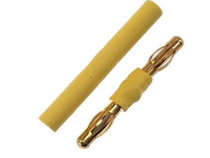 Adaptér 4mm samec/samec + 4mm samice/samice - FO-FS-G4ADAPT
