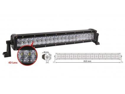 x LED rampa RGB, 60x3W, 810x82x88mm - wl-RGB180W