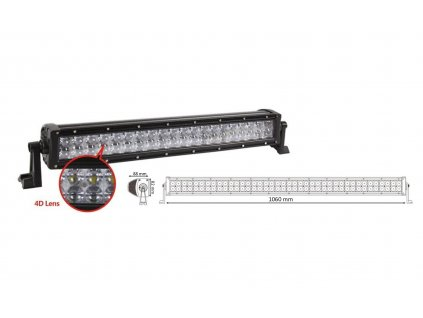 LED rampa 80x3W, RGB, 1060x82x88mm - wl-RGB240W