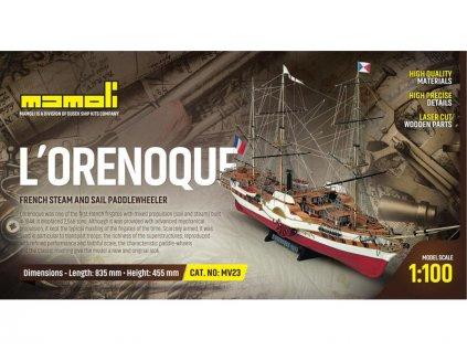 MAMOLI L'Orenoque 1848 1:100 kit - KR-21723