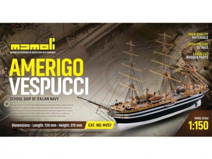 MAMOLI Amerigo Vespucci 1931 1:150 kit - KR-21757