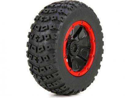 Losi kolo s pneu levé a pravé (1sada): DBXL 1:5 - LOS45004