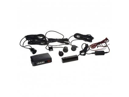 Parkovací systém bezdrátový s LED displejem, 4 senzory - ps4w2
