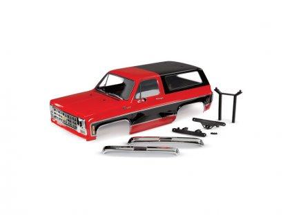 Traxxas karosérie Chevrolet Blazer 1979 kompletní červená - TRA8130R