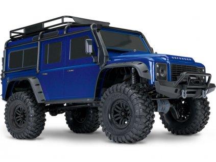 Traxxas TRX-4 Land Rover Defender 1:10 TQi RTR modrý - TRA82056-4-BLUE