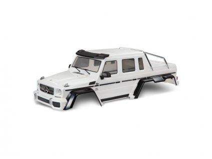 Traxxas karosérie Mercedes-Benz G 63 bílá - TRA8825A