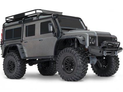 Traxxas TRX-4 Land Rover Defender 1:10 TQi RTR šedý - TRA82056-4-SLV