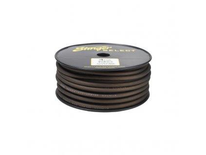 Stinger napájecí kabel 20 mm2, černý, role 30,4 m - SSVLP4BK