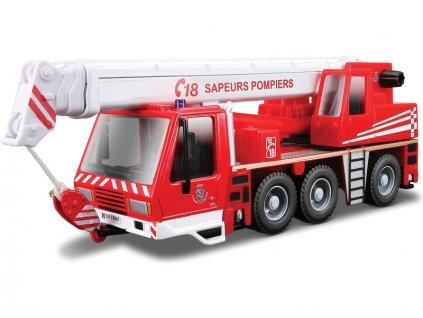 Bburago hasičský jeřáb - BB18-32010