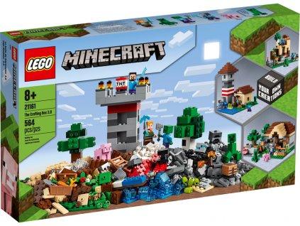 LEGO Minecraft - Kreativní box 3.0 - LEGO21161