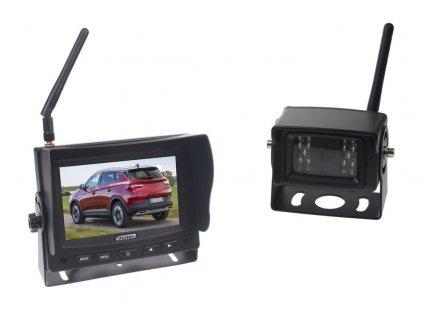 """SET bezdrátový digitální kamerový systém / 1 x 4pin s monitorem 5"""" - svwd45set"""