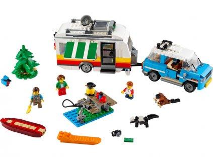 LEGO Creator - Rodinná dovolená v karavanu - LEGO31108