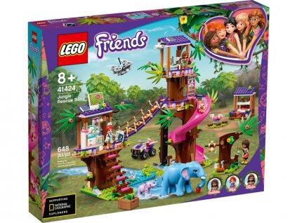 LEGO Friends - Základna záchranářů v džungli - LEGO41424