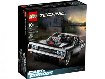 LEGO Technic - Domův Dodge Charger - LEGO42111