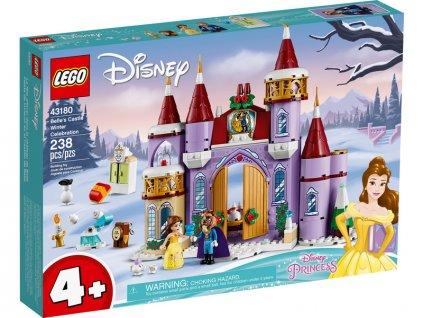 LEGO Disney - Bella a zimní oslava na zámku - LEGO43180