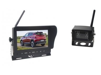 """SET bezdrátový digitální kamerový systém / 1 x 4pin s monitorem 7"""", dotyk tlačítka - svwd47setT"""