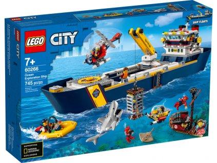 LEGO City - Oceánská průzkumná loď - LEGO60266