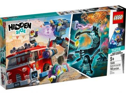 LEGO Hidden Side - Přízračný hasičský vůz 3000 - LEGO70436