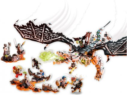 LEGO Ninjago - Drak Čaroděje lebek - LEGO71721