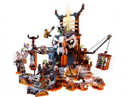 LEGO Ninjago - Kobky Čaroděje lebek - LEGO71722