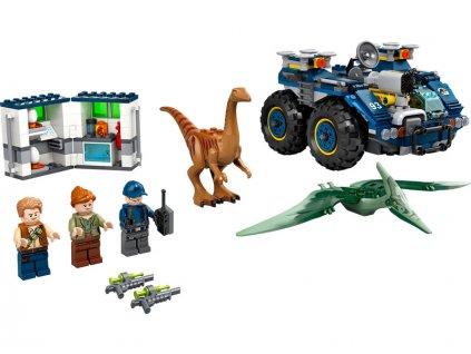 LEGO Jurský Park - Útěk gallimima a pteranodona - LEGO75940
