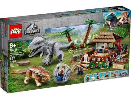 LEGO Jurský Park - Indominus rex vs. ankylosaurus - LEGO75941