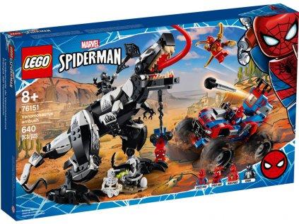 LEGO Super Heroes - Léčka na Venomosaura - LEGO76151