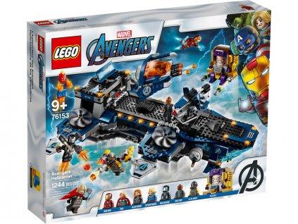 LEGO Super Heroes - Helicarrier Avengerů - LEGO76153