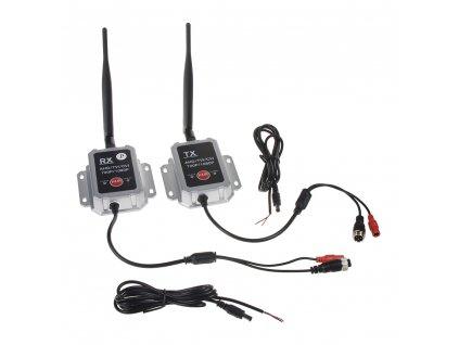 Sada přijímač/vysílač pro digitální bezdrátový VIDEO přenos, AHD, 4xPIN konektory - svwdt3AHD