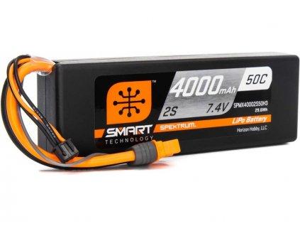 Spektrum Smart LiPo 7.2V 4000mAh 30C IC3 - SPMX40002S50H3