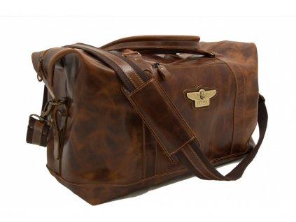 Antonio kožená cestovní taška Royal Class - ANT05006