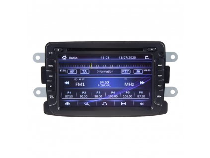 "Autorádio pro Dacia, Renault, Opel, Lada s 7"" LCD, GPS, ČESKÉ MENU - 80895"
