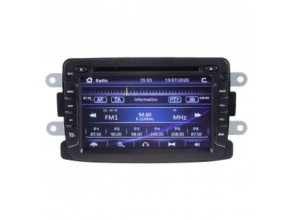 "Autorádio pro Dacia, Renault s 7"" LCD, GPS, ČESKÉ MENU - 80895"
