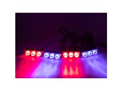 PREDATOR LED vnější bezdrátový, 12x LED 1W, 12V, modročervený - kf326Wblre