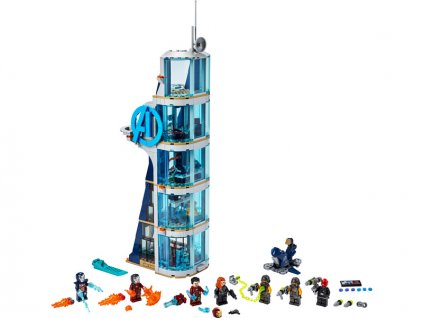 LEGO Super Heroes - Boj ve věži Avengerů - LEGO76166