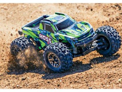 Traxxas Hoss 1:10 VXL 4WD RTR zelený - TRA90076-4-GRN