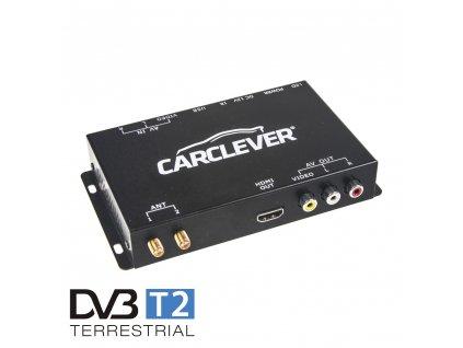 DVB-T2/HEVC/H.265 digitální tuner s USB + 2x anténa - dvb-t04