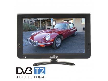 """LCD monitor 10"""" s DVB-T2/SD/USB/HDMI/české menu - ds-x10dvb-t"""