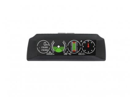 """Palubní DISPLEJ  5,2"""" LCD, GPS měřič rychlosti s vestavěným víceosým gyroskopem - se168"""