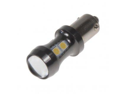 LED BAX9s bílá, 12-24V, 9LED/3030SMD - 95406