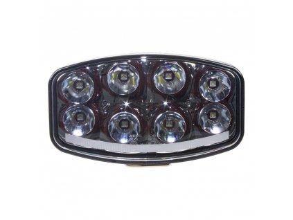 LED světlo s pozičním světlem oválné, 8x8W, 210x140mm, ECE R7/R10/R112 - wld788C